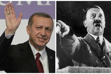 Arab World is distancing itself from its Ottoman Past : Erdogan or Hitler?