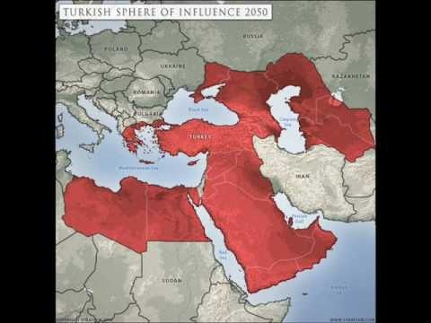 Arab World is distancing itself from its Ottoman Past : Map showing Turkish Malicious Designs to re-establish Neo-Ottoman Empire