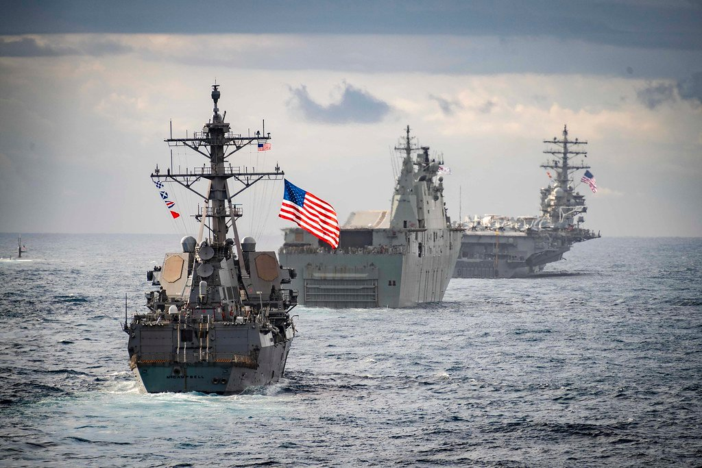 With An Eye On China, US to Deploy New Naval Fleet In Indian Ocean