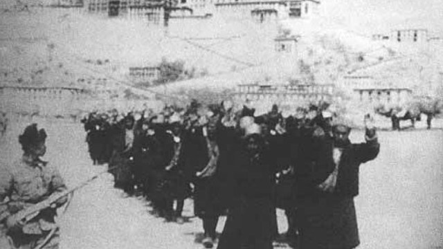 CCP Maintains A Military Occupation Of Tibet That Dates To The 1950s