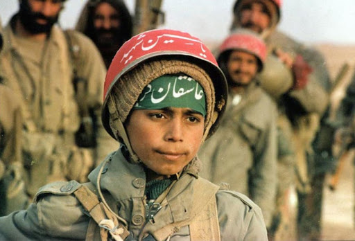 Inside Iran's Army of Terror And Oppression: Iranian child soldier during the Iran-Iraq War, '80s