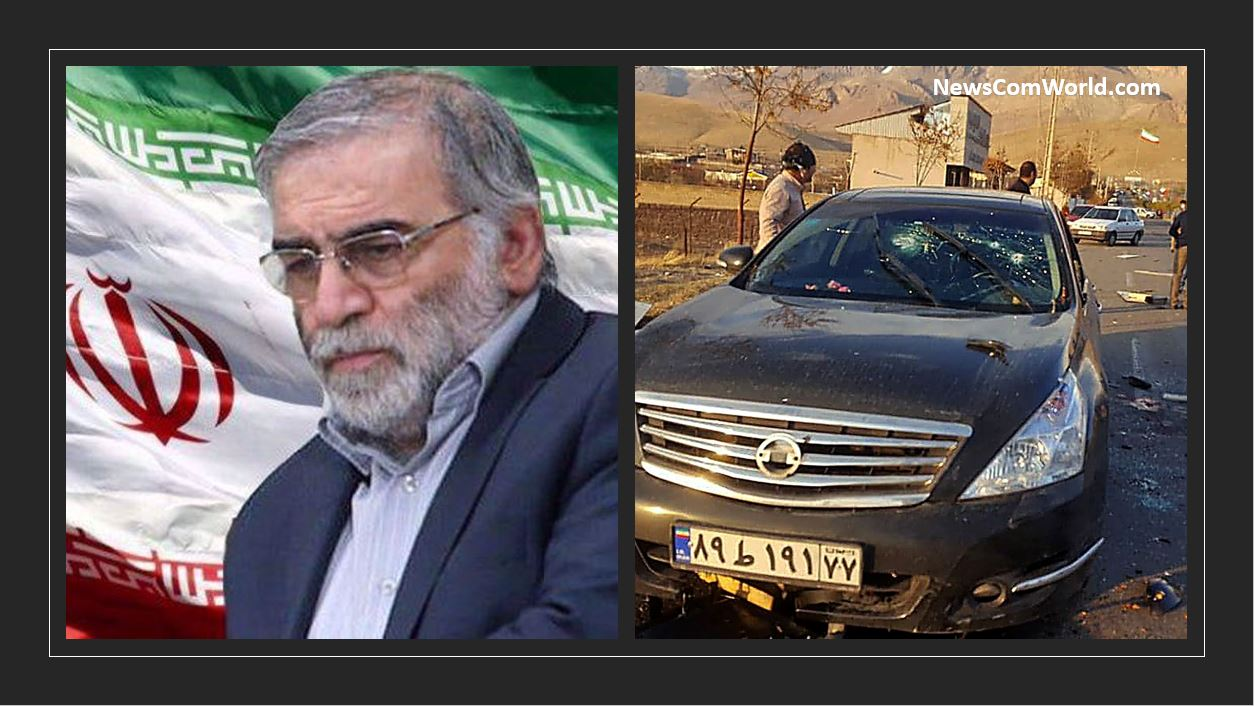 Iran's Top Nuclear Scientist Mohsen Fakhrizadeh Assassinated Near Tehran