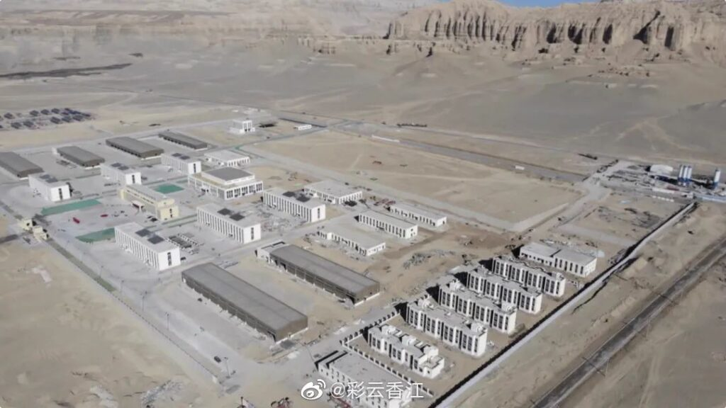 Chinese CCP Propaganda Showing newly built Army Barracks in Ngari at height of 4,500 Mts. However Ngari is more than 260Km from battle field which is located at 6,000Mts heights