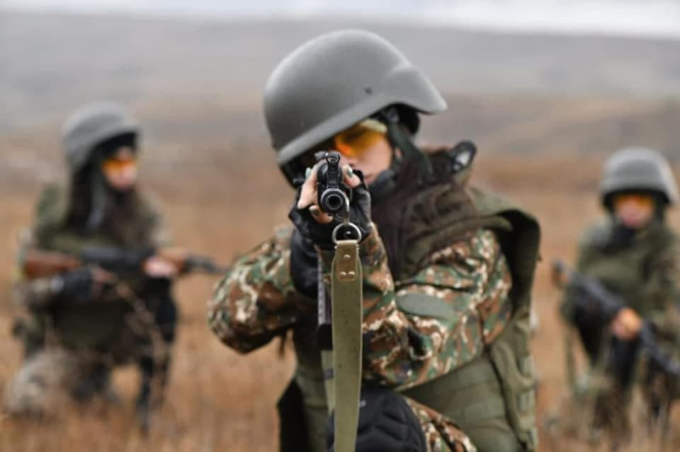 Armenian Women Join War Against Islamist Radical Terrorists Fighting Alongside Azerbaijan and Turkey