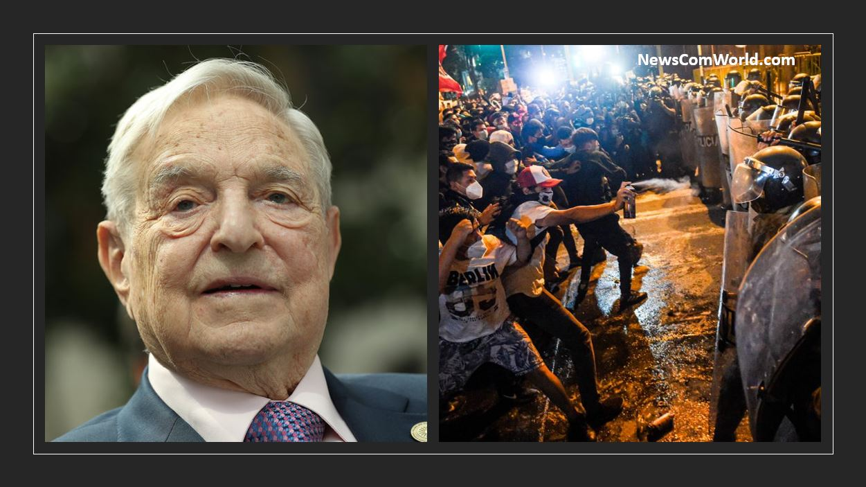 George Soros Behind The Protests In Peru To Destabilize The Region.