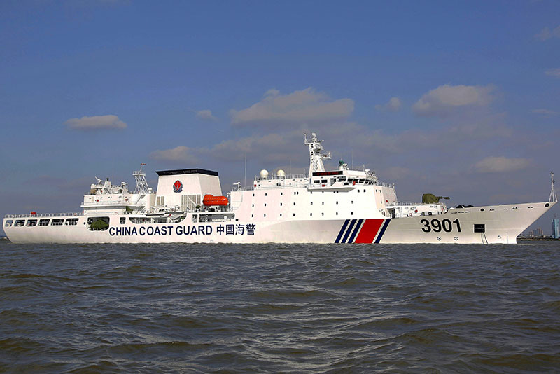 China Authorized Its Pugnacious Coast Guard To Use Force Amid Disputes