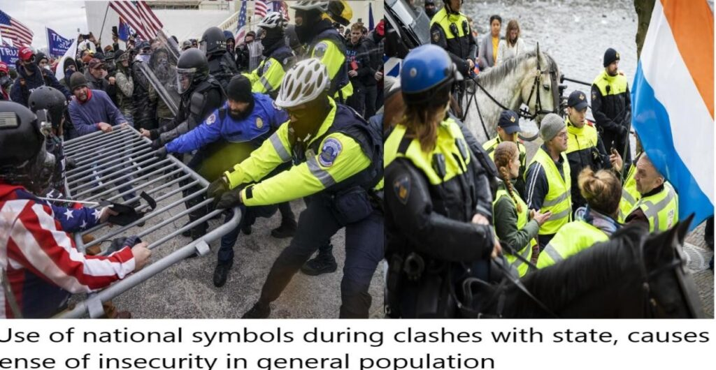 From CAA Violence To Hathras To Farmers Protest : Use of national flag during violence by rioters sponsored by same group in USA/Europe and India.