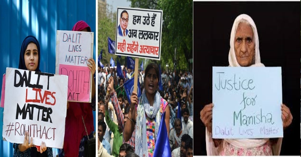 From CAA Violence To Hathras To Farmers Protest : Promoting caste divide and inducing caste based violence is important tool used for dividing majority population of India with end result of taking over of entire resources of country.