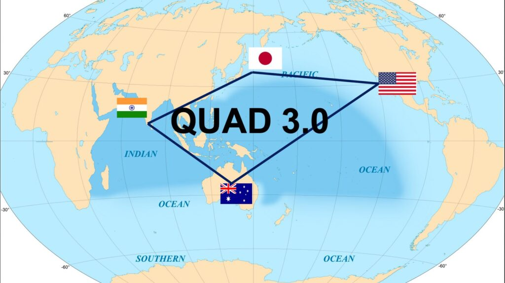 Six Strategies For QUAD 3.0 : Lt Gen P R Shankar (R)