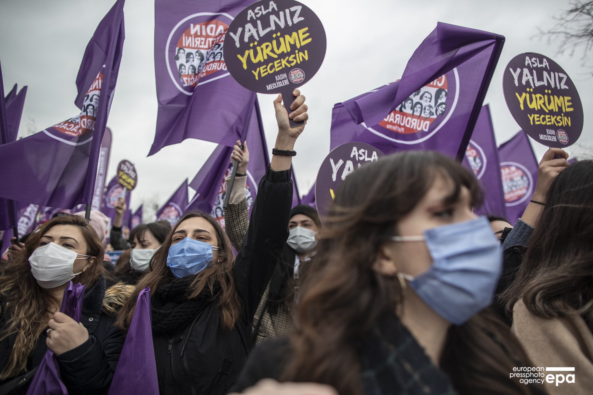 Turkey Does Not Care for Women Rights : Erdogan Signs a Decree annulling Turkey's ratification of the Istanbul Convention