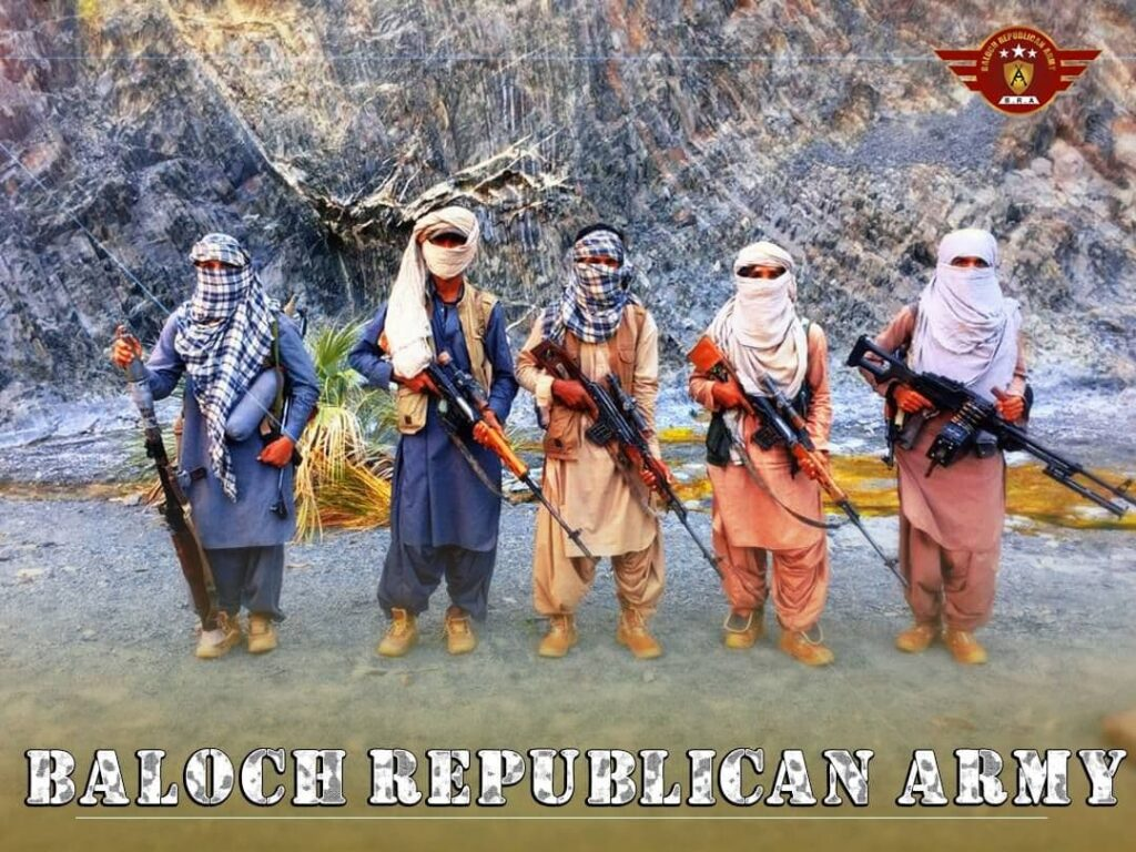 Balochistan Freedom Fighters group BRA Attack a convoy of occupying Pakistani forces in Nag area of Kolwah