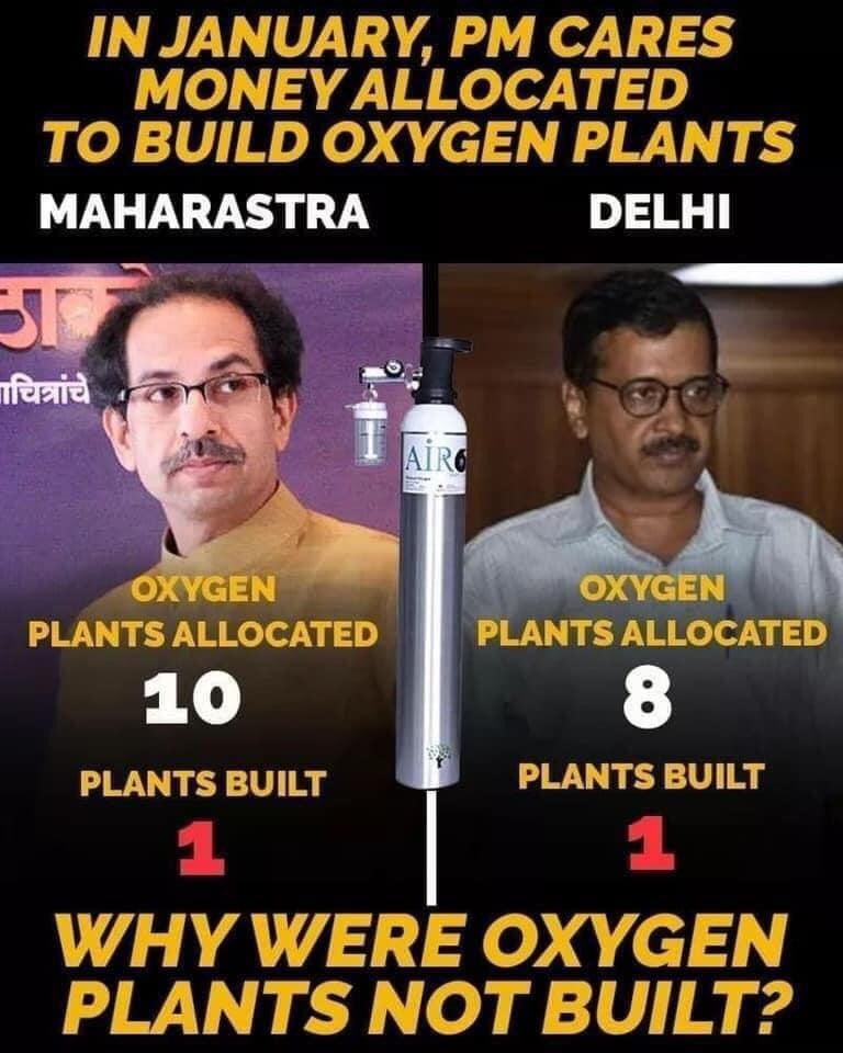 Oxygen Shortage News Blown Out of Proportion by Leftist Liberals Propaganda to Target Modi