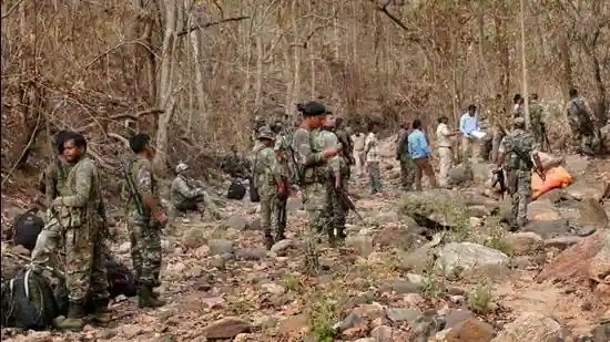 China Backed Terror Groups Ambush Indian Security Forces : 22 Security Personnel Martyred