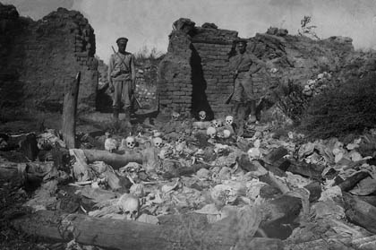 Armenians burnt alive in Sheykhalan by Turkish soldiers, 1915   Armenian Genocide   NewsComWorld.com
