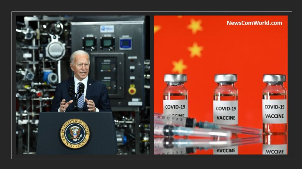 Biden And Europe blocking Vaccine Raw Material Supplies To India - A Plan To Create A Market For Pfizer And China? | NewsComWorld.comm