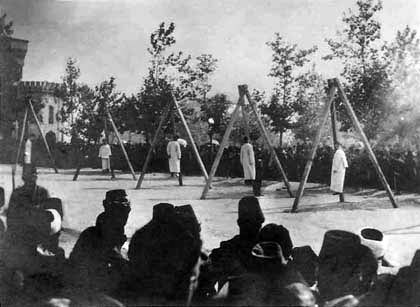 Execution of Armenians in the Constantinople, June 1915   Armenian Genocide   NewsComWorld.com