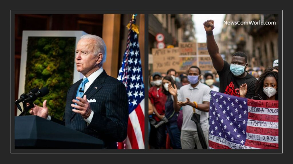Joe Biden Blamed for Terrorizing Black Communities by BLM, Says He is Worse Than Trump : Who is Controlling BLM? | NewsComWorld.com