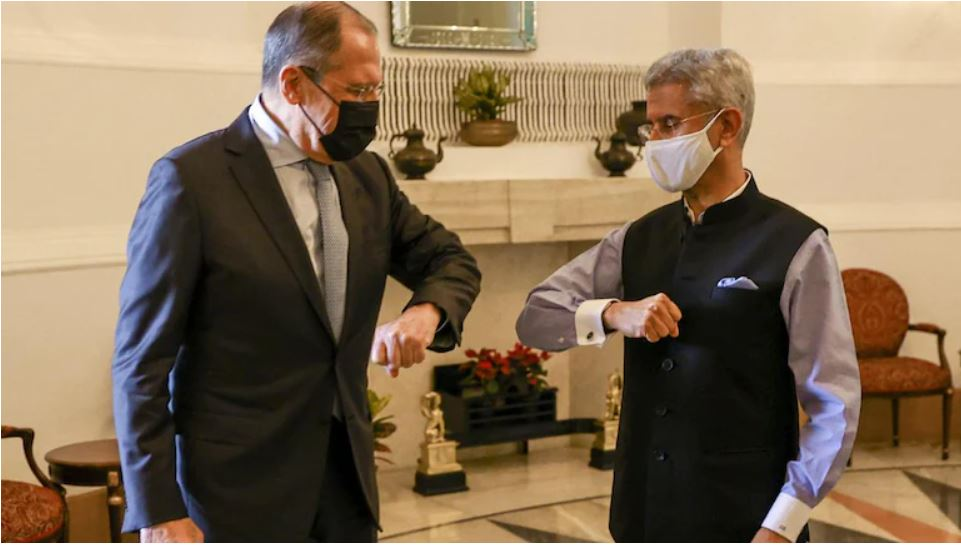 Russia As Always Reliable - Russian Foreign Ministeer Sergei Lavrov on visit to New Delhi with Indian Foreign Minister S Jaishankar | NewsComWorld.com