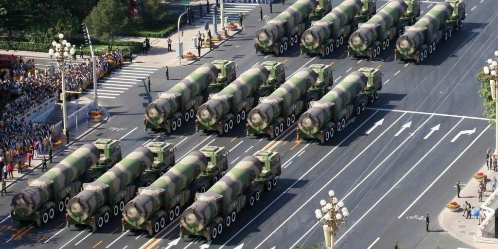 China Threatens Australia With Long-Range Strikes On Military Facilities And Relevant Key Facilities On Australian Soil - Chinese DF-31 Missile | NewsComWorld.com