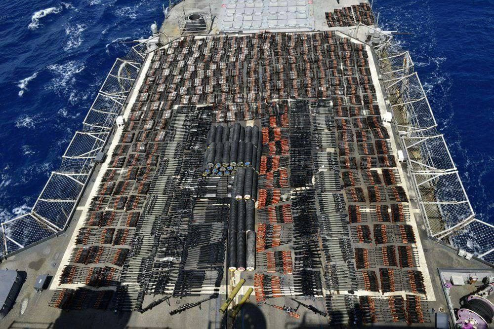 Large Shipment of Chinese Arms Seized by US Navy in Arabian Sea Headed For Houthi Terrorists in Yemen | NewsComWorld.com