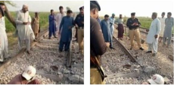 Sindhi Freedom Fighters blew up railway track used for transportation of Pakistani occupational forces. | NewsComWorld.com