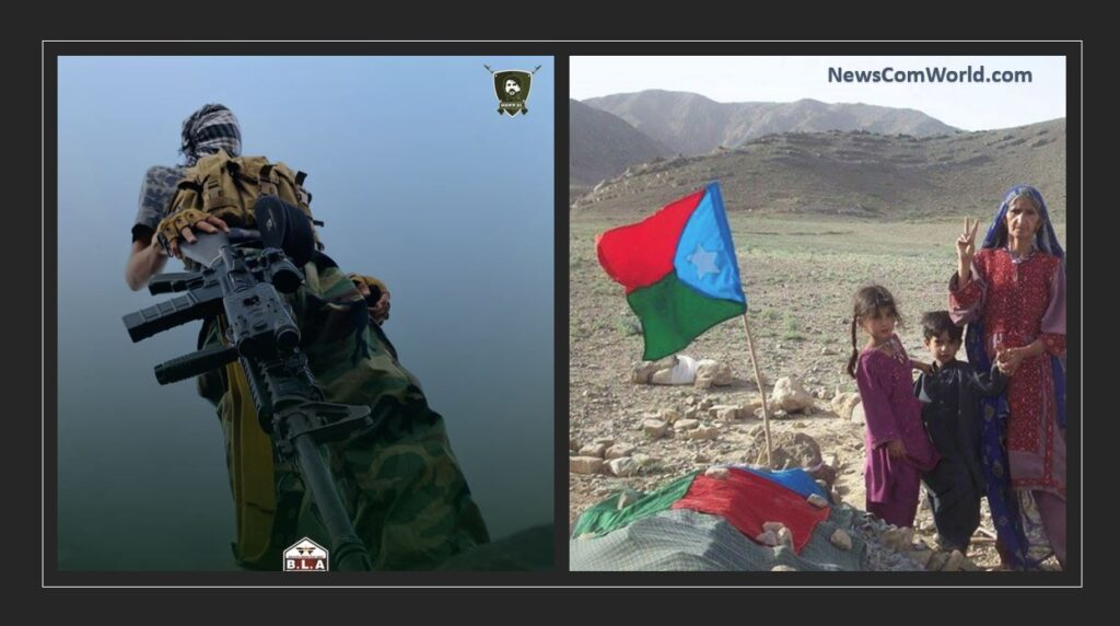 Baloch National Army Group BLA Killed 16 Pakistan Army Men, Injured 15: Pakistan Army Continues To Fires At Baloch Civilian Villages With Helicopter Gunships Near CPEC | NewsComworld.com