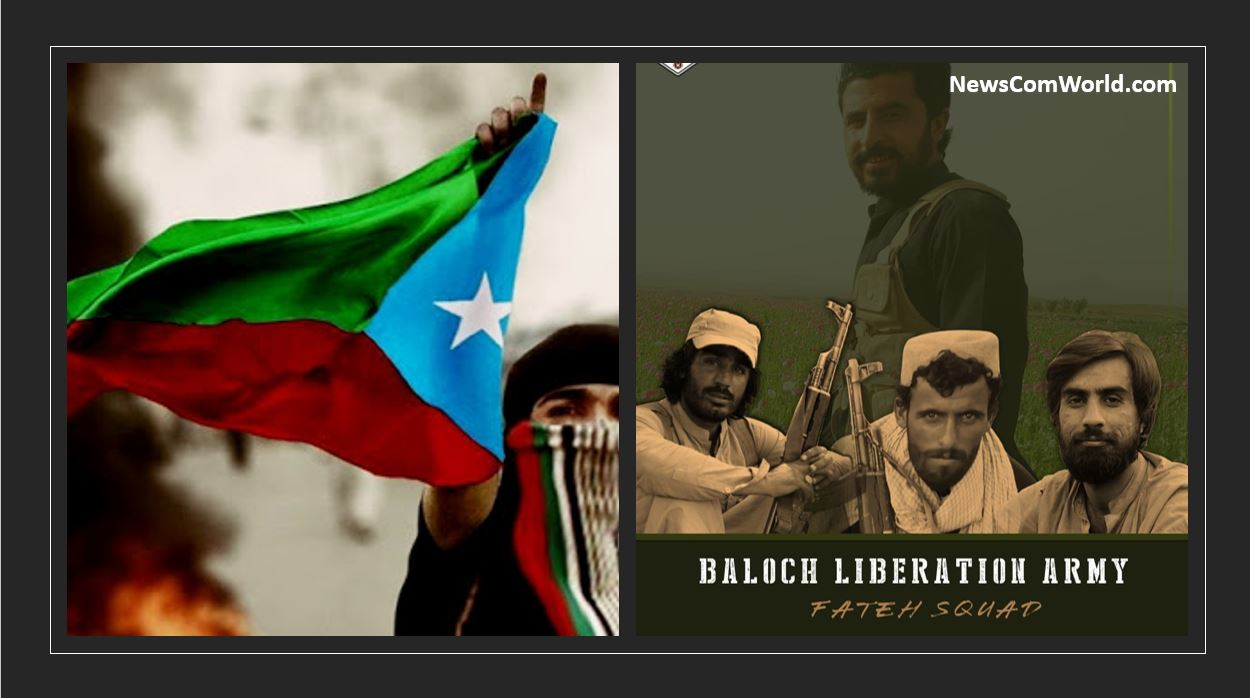 Baloch National Army Group BLA Eliminated 25 Enemy Pakistan Army Personnel: 3 BLA fighters of Fateh Squad embraced martyrdom | NewsComWorld.com