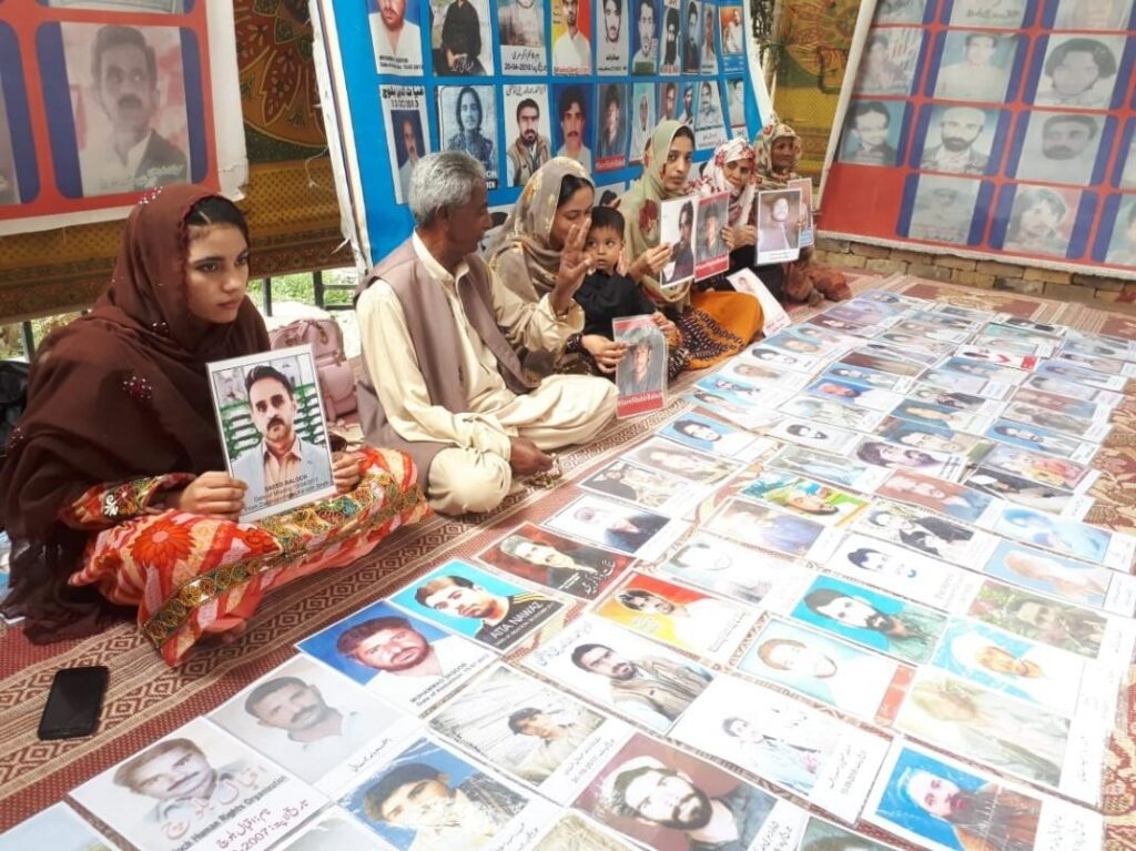 Protests for release of Baloch Missing Persons abducted and disappeared by Pakistan Army | NewsComWorld.com