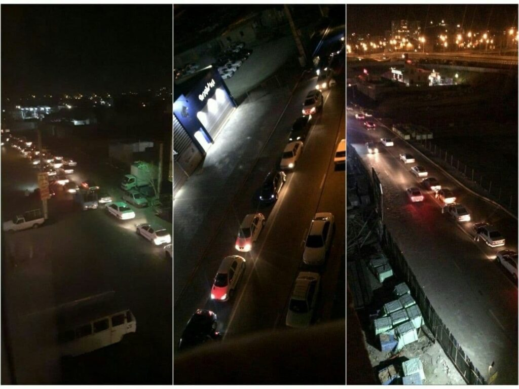 Massive fire broke out at oil refinery in the southern part of the Iranian capital Tehran - Long queues at Gas Station | NewsComWorld.com