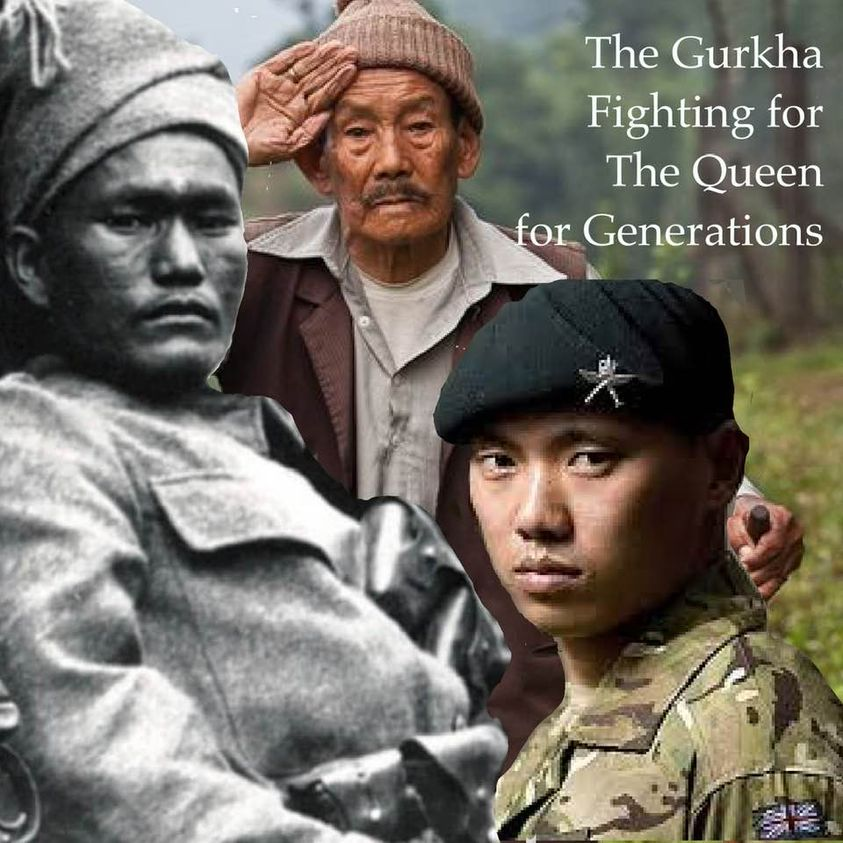 Some of the Gurkhas fighting for the Queen for Generations   NewsComWorld.com